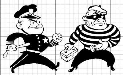 bad cop coloring pages | Grids, Guides, Proportions and InDesign Math | Nick ...
