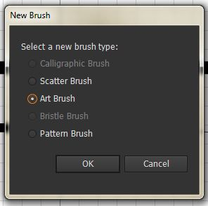 the Illustrator Art Brushes 4 ways | Nick Cassway's designBLOG
