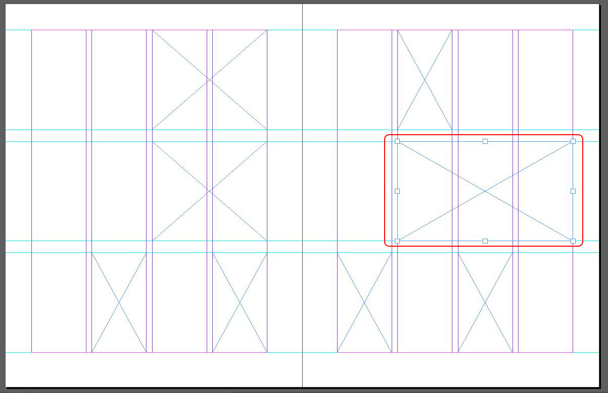 Designing with a Modular Grid in InDesign | Nick Cassway's